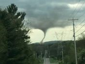 Cranberry PA tornado today