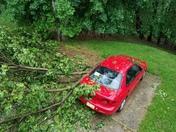 Damage in Greensburg, PA