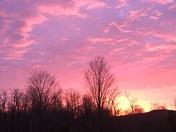 Sunrise on Saturday