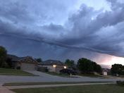 May 3, 2017 morning storm