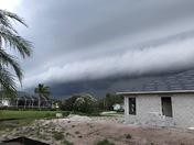 Roll cloud over Vero Beach