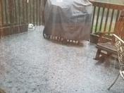 Hailstorm in Kittanning