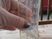Rain this past Thursday night in Laurel Springs