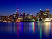 my Toronto at night