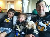 Penguins Fans in Madison