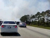 Fire on Interstate 95