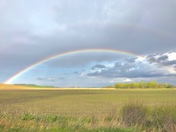Double Rainbow near North Bend NE