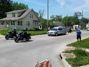 Deputy Mark Burbridge' final ride.