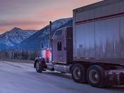 Trucking on the Alaska Highway