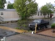 Fierce Wind Storm passed By in Santa Fe