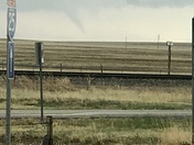 Tornado in between wagon mound and springer