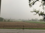 1 inch of rain and still coming