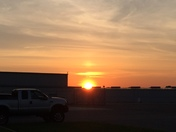Sunset at Smith Reynolds May 10th