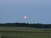 Orange Moonrise May 10th.