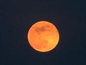 Moon taken by iPhone thru binoculars May 10th 2017