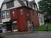 Building fire E. Crawford Ave. Connellsville