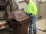 Half-way through compost pilot, 96,400 lbs of material kept out of landfills