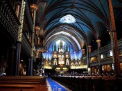 A Cathedral in Montreal, Que