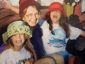 Grandma with her girls