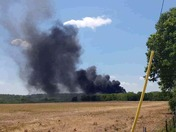 Fire at ADS pipe factory