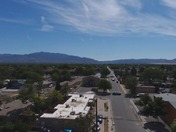 AERIAL VIDEO OF THE SHOOTING IN SE ABQ MOTERS DAY