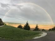 Morning Double Rainbow