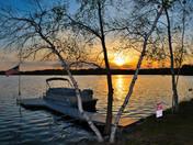 Sunset at Canobie Lake on 05/16/17.