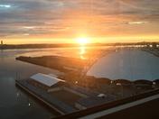 Sunrise on the Seaport