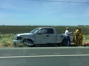 Heading collision on SR 12 about 5 miles west of I-5