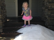 Hail in Grimes on 5/17