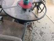 my sad patio table 😢 Monroe, Iowa