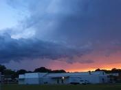 Eden, NC sunset