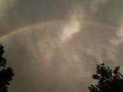 Double rainbow in Moore