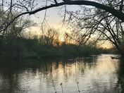 Milwaukee River Sunset