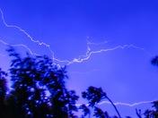 Lightning last night
