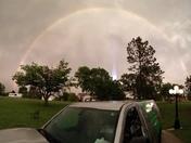 Rainbow & Lightning