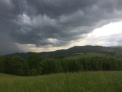 Storm in Ashe county