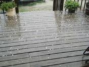 Tecumseh hail