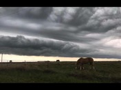 Crazy Clouds over the Ranch