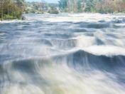 The Rush of Burleigh Falls