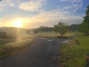 Bicentennial Park Sunrise- Ticondrroga....