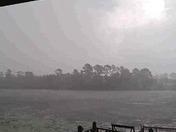 Rain over the lake