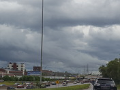 Black clouds I 75 N and R Reagan