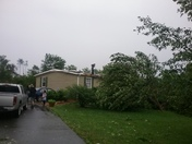 Tornado on Cliff View Dr.