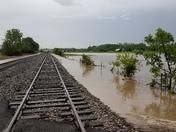Flood driveway wayentownship Butler county
