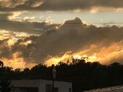 The sky looks like it was on fire! love it!!!!