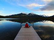 Vermilion Lakes dock