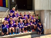 Mrs. Dacus' Class from Monarch Elementary at the Greenville County Museum of Art