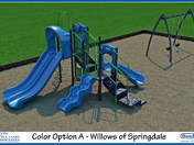 Ribbon Cutting for New Playground at Willows of Springdale on Saturday, May 27th