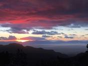 Sunset over beautiful Alamogordo!